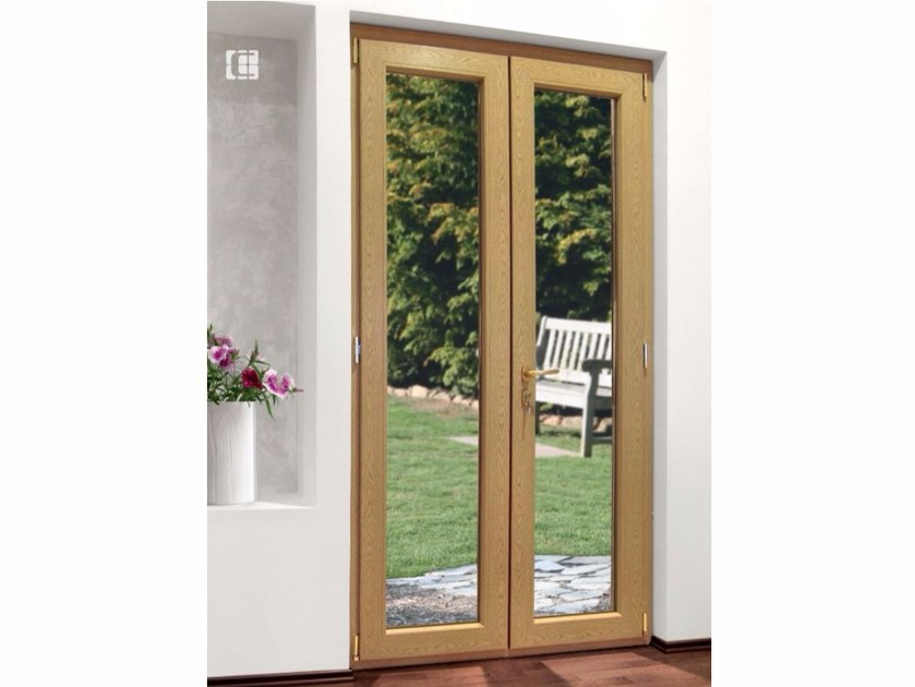 PVC patio door with lock RUBINO | Patio door with lock - Cos.Met. F.lli Rubolino