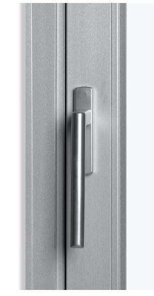 Porta finestra alzante scorrevole in pvc rubino slide al for Finestra esterna scorrevole