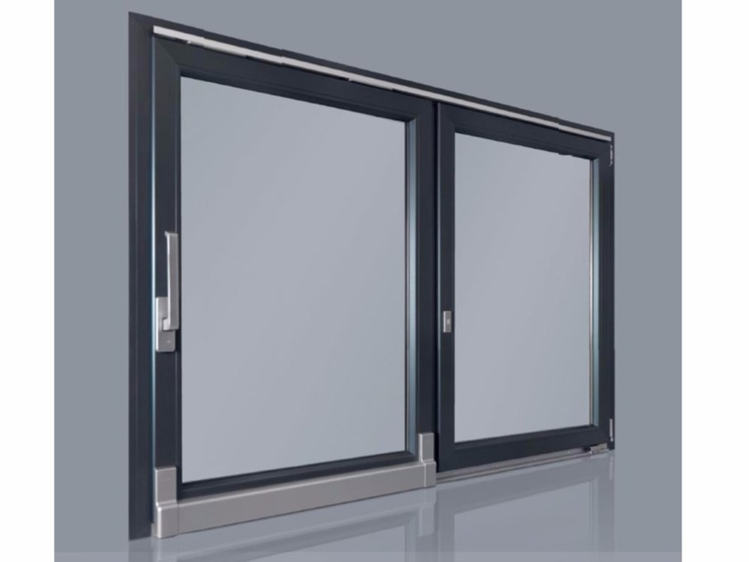 PVC sliding window RUBINO | Sliding window - Cos.Met. F.lli Rubolino