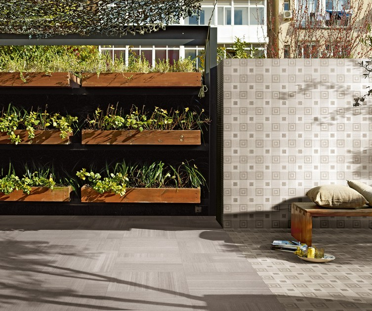 Wall/floor tiles RUG HOME ECRU/Square Light - CERAMICA FONDOVALLE