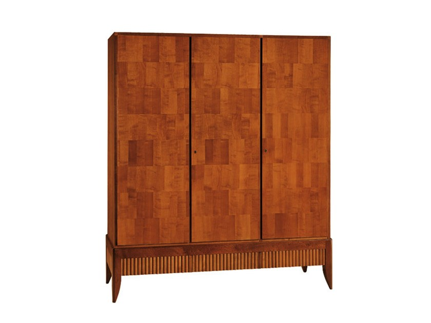 Cherry wood wardrobe '900 RULMAN | Wardrobe - Morelato