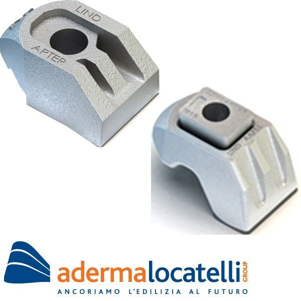 Anchorage system STEELWORK FIXINGS AF by AdermaLocatelli