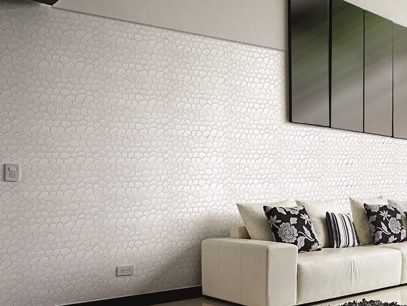 Modular indoor/outdoor reconstructed stone 3D Wall Cladding DAKAR - BIOPIETRA®