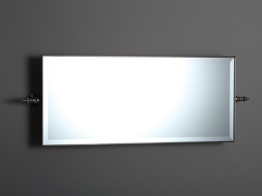 Rectangular wall-mounted bathroom mirror Rectangular bathroom mirror - BLEU PROVENCE