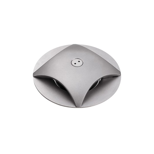 LED walkover light stainless steel steplight Rondò 3.4 - L&L Luce&Light