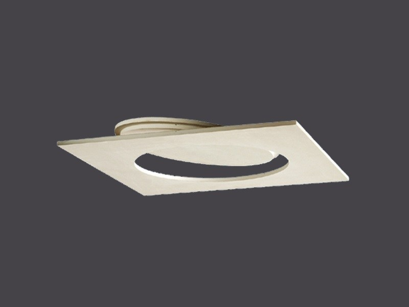 Plasterboard hatches with round opening for false ceilings ROUND SLIM HATCH DOORS IN PLASTERBOARD - Gyps