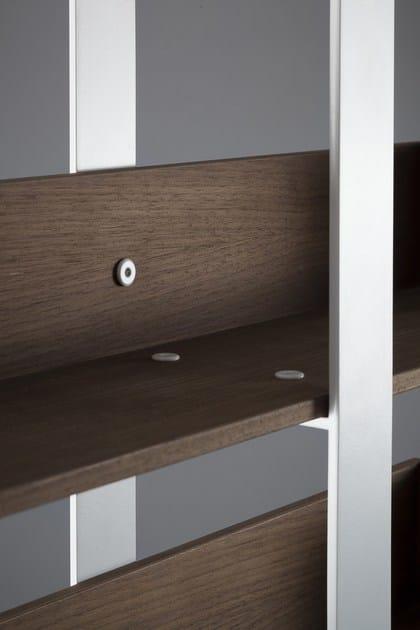 libreria a giorno autoportante divisoria in legno s verin 1 alex de rouvray. Black Bedroom Furniture Sets. Home Design Ideas