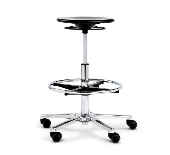 Office stool for designer S 193 COUNTER - WILDE+SPIETH Designmöbel
