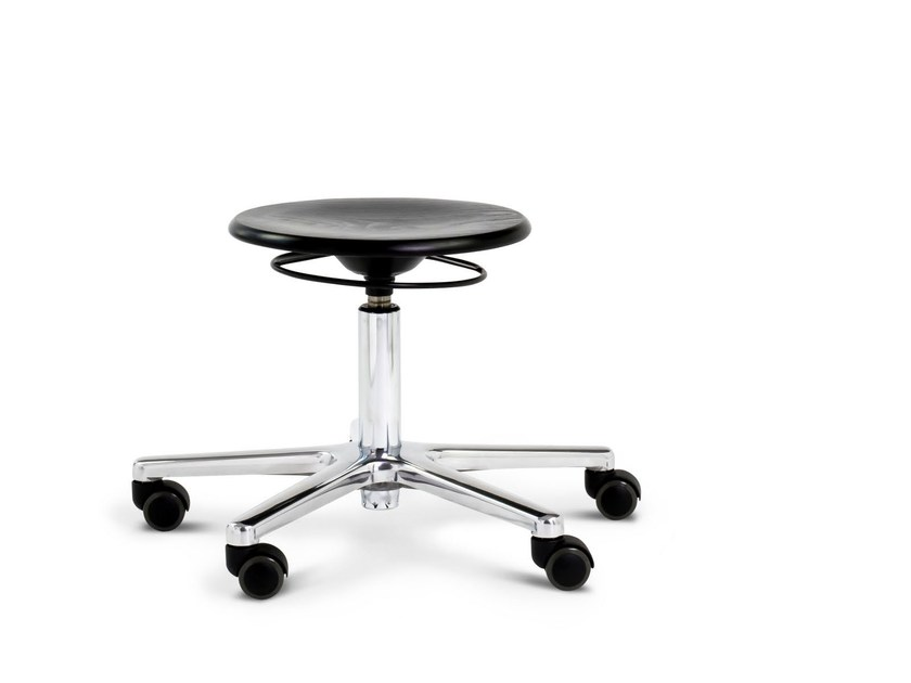 Office stool for designer S 193 R - WILDE+SPIETH Designmöbel