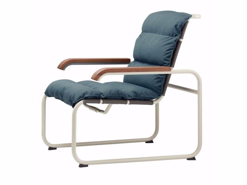 Sled base upholstered easy chair S 35 N | Upholstered easy chair - THONET