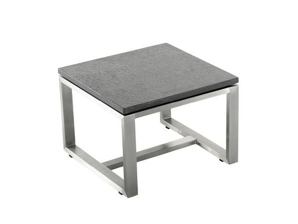 Square ceramic garden side table S-SERIES by solpuri