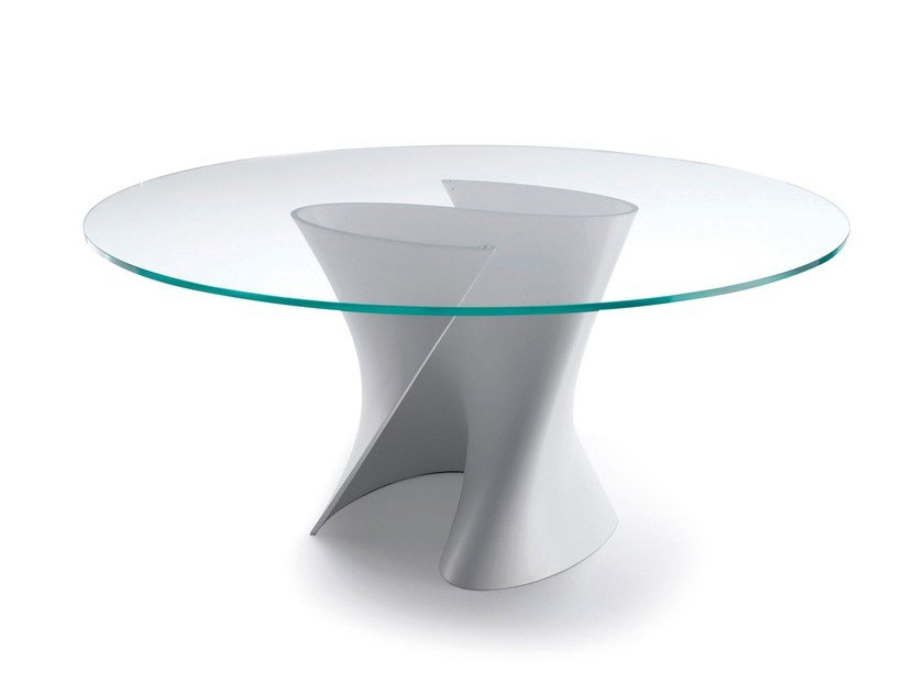 Round crystal table S TABLE | Crystal table - MDF Italia