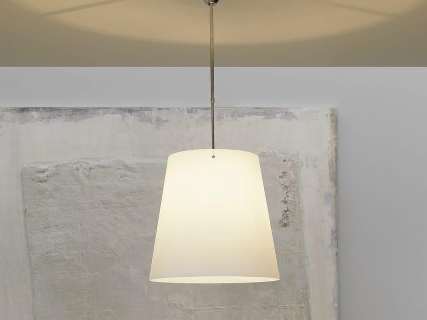 Blown glass pendant lamp S1853 - FontanaArte