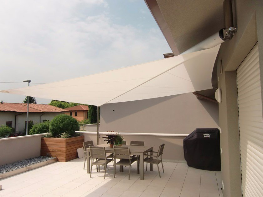 Motorized shade sail S3 | Shade sail - KE Outdoor Design