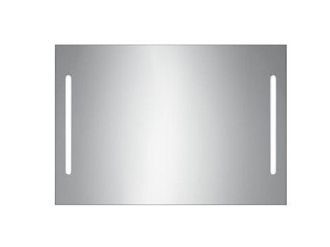 Wall-mounted bathroom mirror with integrated lighting S3813-S3513 | Mirror by INDA®