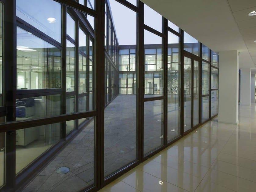 Steel patio door SA AF | Profili tagliafuoco EW 30 60 90 - SECCO SISTEMI