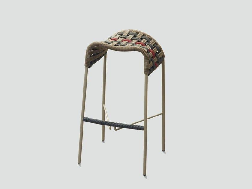 Synthetic fibre stool SADDLE - da a
