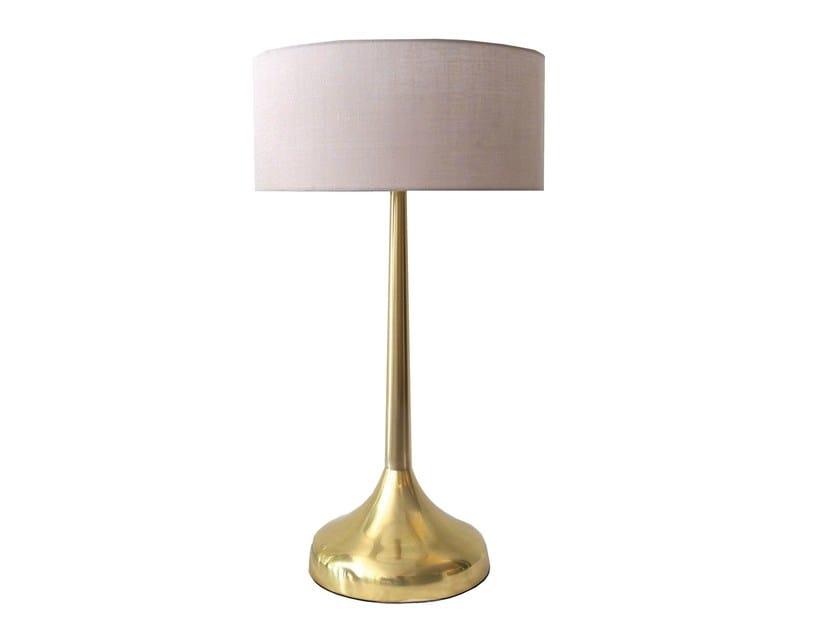 Brass table lamp SAFIO   Table lamp - Branco sobre Branco