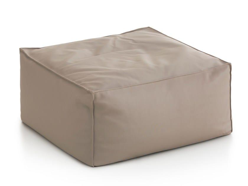 Square fabric garden pouf SAIL | Square garden pouf - GANDIA BLASCO