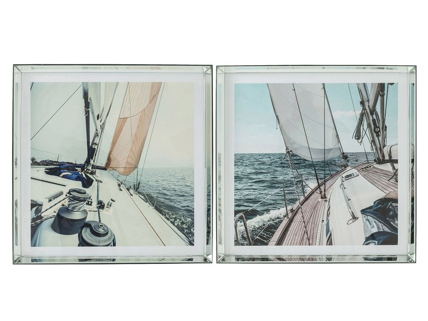 Photographic print SAILING - KARE-DESIGN