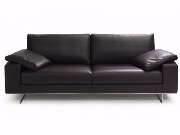 3 seater leather sofa SAINT JOHN PERSE | 3 seater sofa - Canapés Duvivier