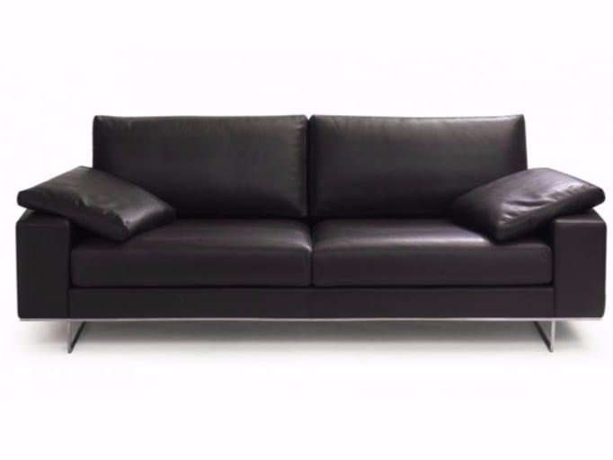 3 seater leather sofa SAINT JOHN PERSE | 3 seater sofa - Canapés Duvivier