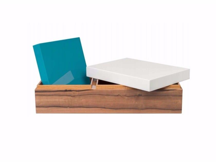 Wooden storage box SALAMBO - Raphaël Thomas éditions