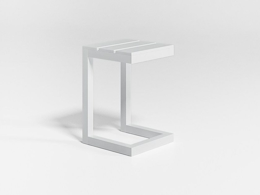 Square garden side table SALER | Side table - GANDIA BLASCO