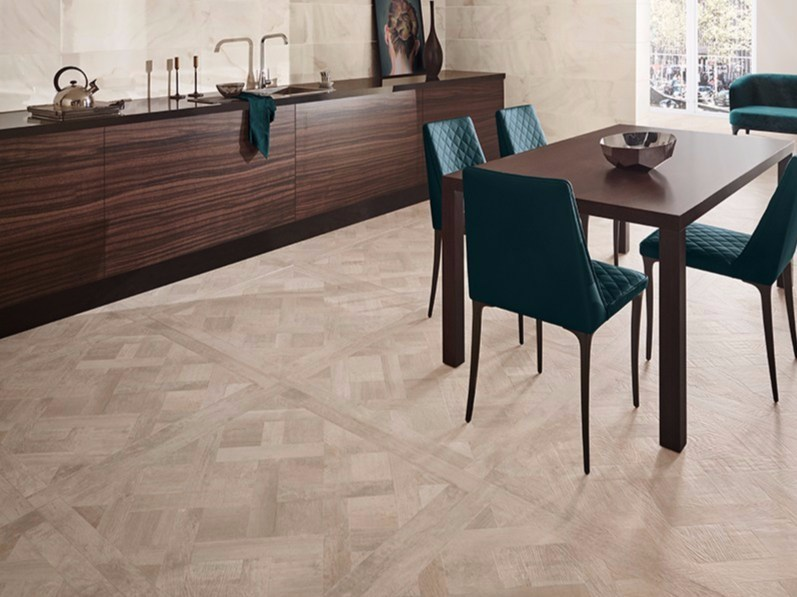Heating flooring with wood effect SALOON - Revigrés
