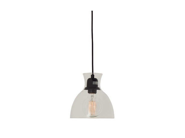 Glass pendant lamp SALUTE by Aromas del Campo