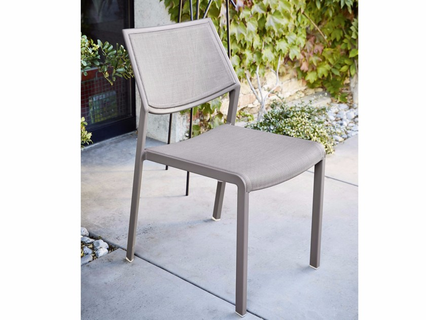 Aluminium garden chair SAMBA RIO | Aluminium chair - Roberti Rattan