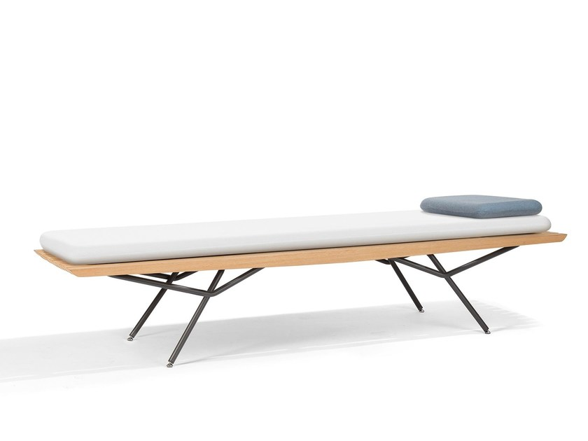 Iroko day bed / garden daybed SAN | Daybed by MANUTTI