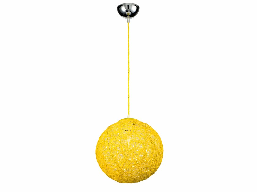 Rope pendant lamp SANCHO | Rope pendant lamp - ROSSINI ILLUMINAZIONE