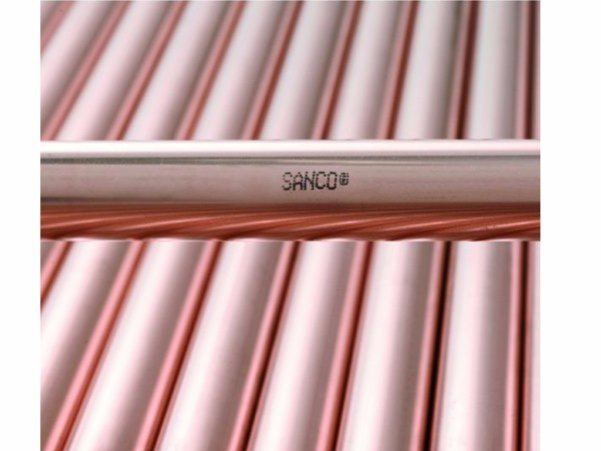 Pipe and special part for water network SANCO® - Serravalle Copper Tubes