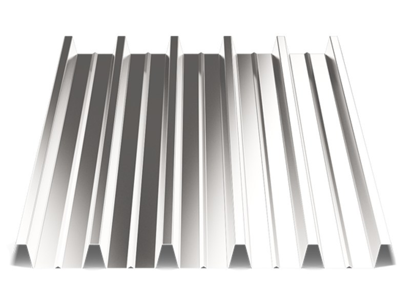 Corrugated and undulated sheet steel SANDA55 P800 | Corrugated and undulated sheet steel - SANDRINI METALLI