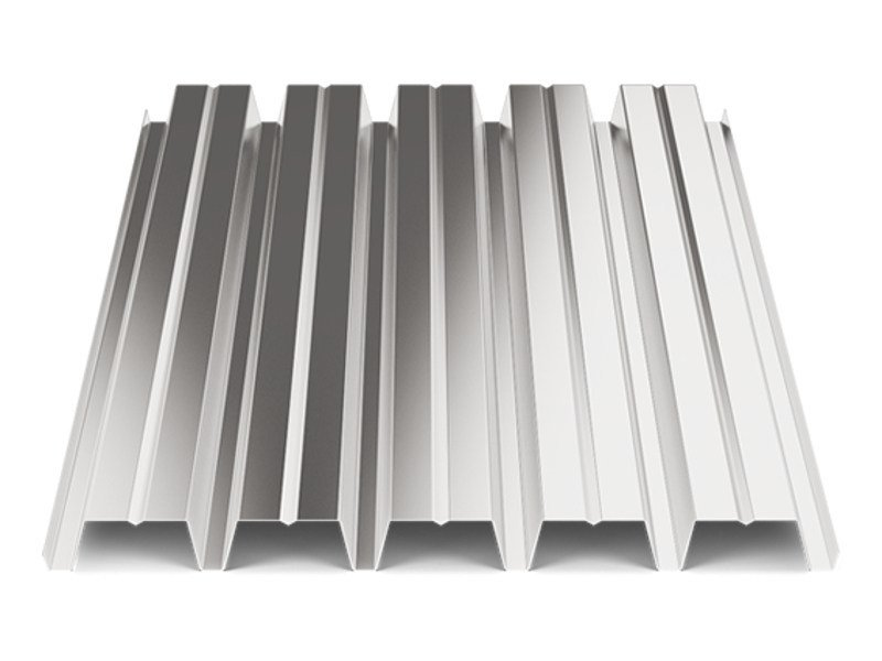 Corrugated and undulated sheet steel SANDA55 P800 | Metal sheet - SANDRINI METALLI