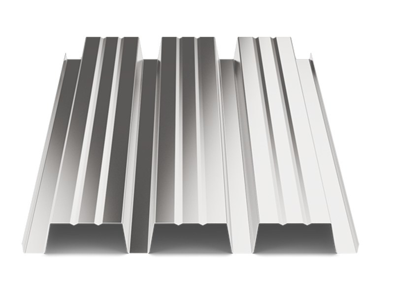 Corrugated and undulated sheet steel SANDA75 P760 - SANDRINI METALLI