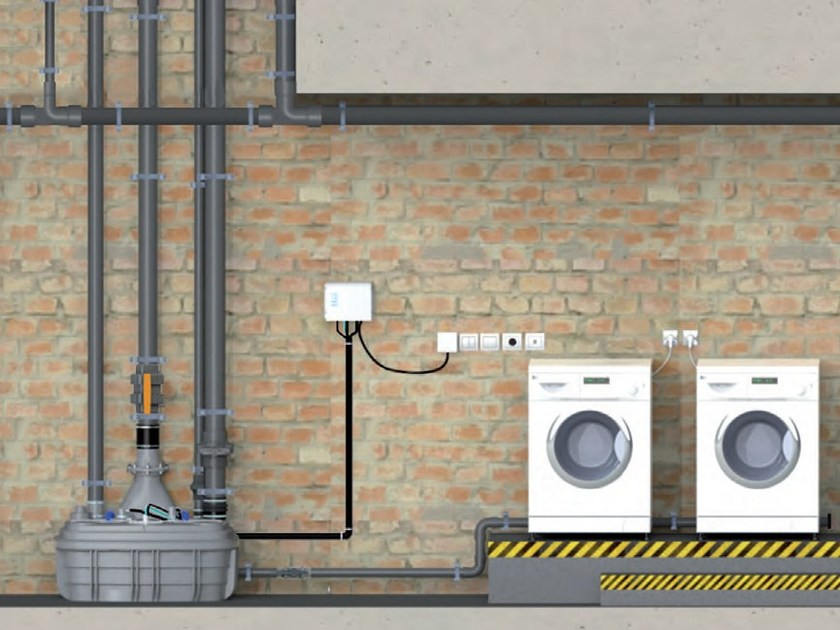 Grey water unit SANICUBIC 2 XL by Sanitrit