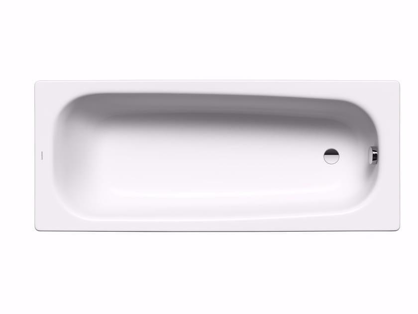 Vasca da bagno rettangolare in acciaio smaltato da incasso saniform medium kaldewei italia - Vasche da bagno in acciaio smaltato ...