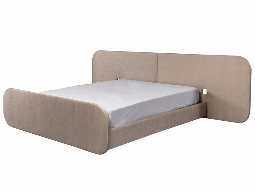 Fabric double bed SANKY - AZEA