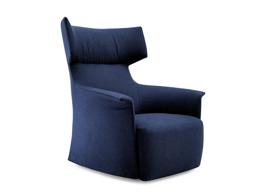 Wingchair with armrests SANTA MONICA HOME - Poliform