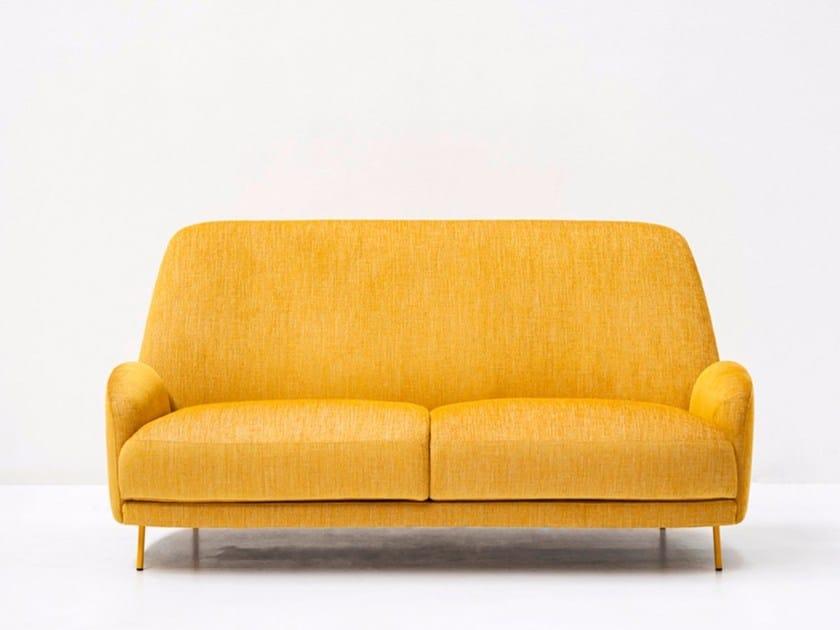 2 seater fabric sofa SANTIAGO | Sofa - Tacchini Italia Forniture