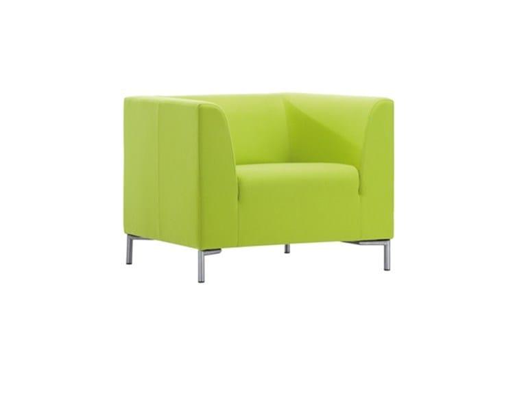 Armchair with armrests SANTORIN | Armchair - SMV Sitz- und Objektmöbel