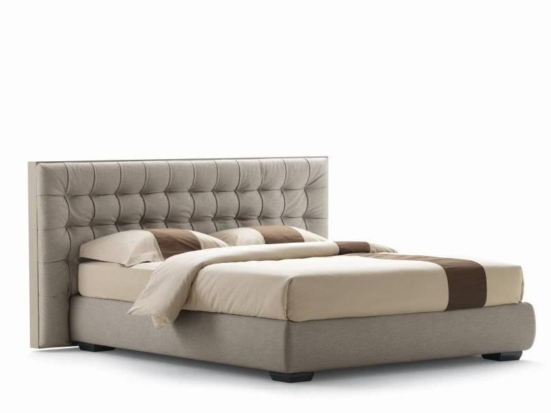 Upholstered double bed SANYA | Double bed - Flou