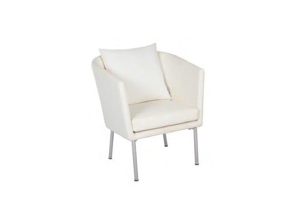 Stamskin® garden armchair with armrests SAO PAULO | Garden armchair - Sérénité Luxury Monaco