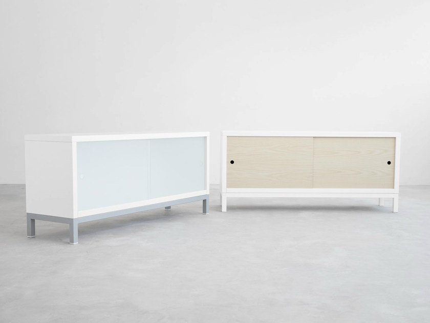 Sideboard with sliding doors SAPPORO | Sideboard by STUA