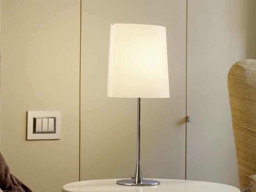 Polycarbonate table lamp SARA | Table lamp - FontanaArte
