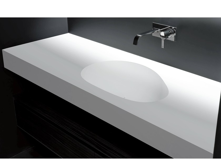 Corian® washbasin countertop SASSO - Antonio Lupi Design®