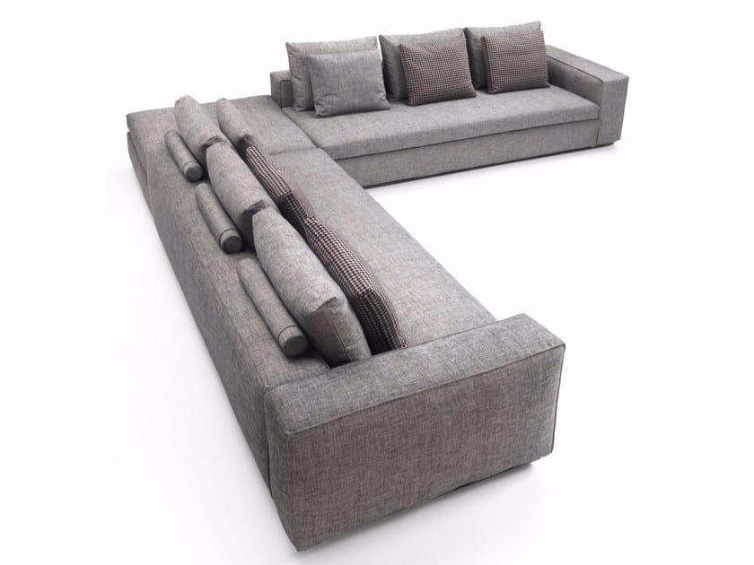 Corner sectional fabric sofa SAVOY | Sectional sofa - Marac