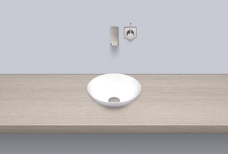 Dish basin from glazed steel SB.K300.GS - ALAPE